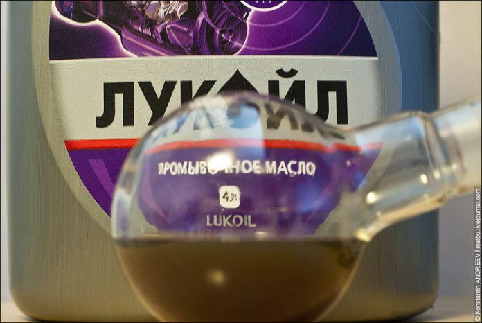 Как промыть двигатель промывочным маслом
