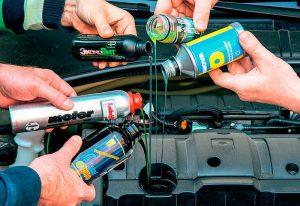 Присадки в двигатель и моторное масло