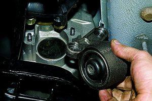 подушки опоры двигателя проверка замена