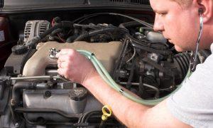 Диагностика шумов и стуков в двигателе