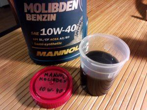 Моторное масло с молибденом