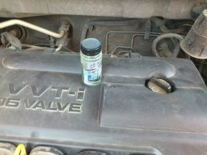 Присадка для повышения компрессии в двигателе