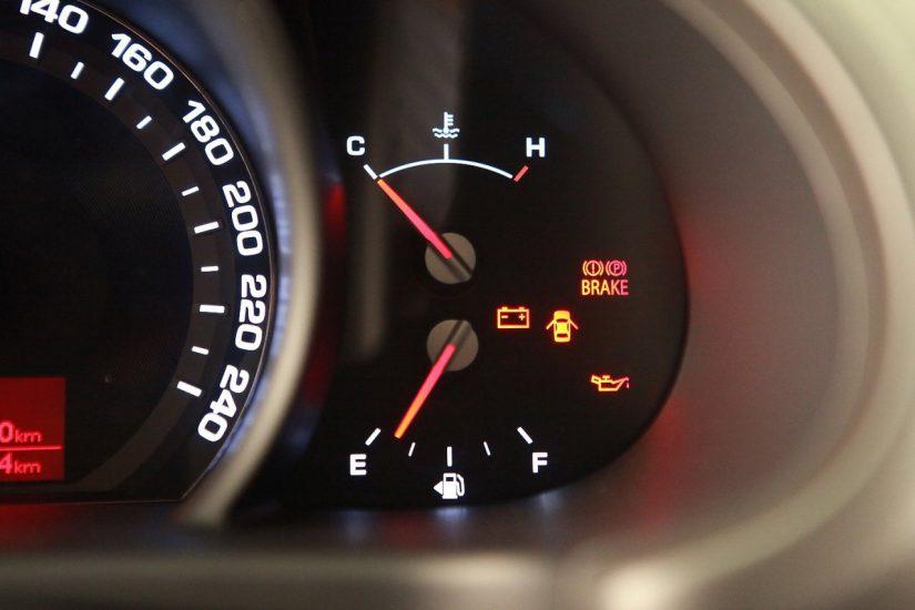 Двигатель долго прогревается температура не растет