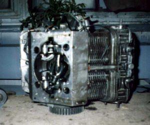 Двигатель Фролова без коленвала