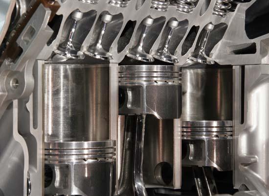 Температура и давление в дизельном двигателе