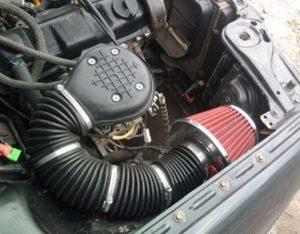 Система подачи воздуха в мотор бензиновый