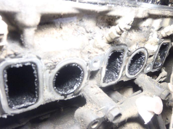 Очистка впускного тракта дизельного двигателя