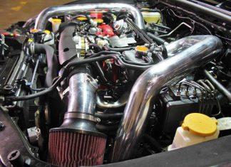 Система подачи воздуха в двигатель