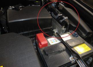 Где находится блок управления двигателем