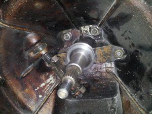 Стыковка двигателя и коробки