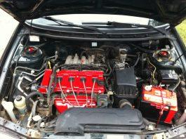 Покраска двигателя автомобиля своими руками