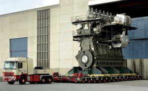 Самый большой двигатель внутреннего сгорания в мире