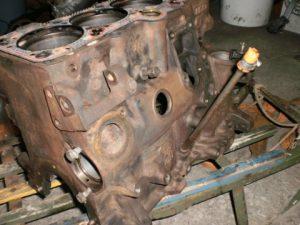 Подготовка двигателя к покраске