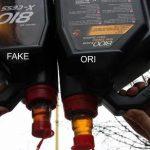 Оригинальное моторное масло и подделка