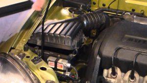 Подача воздуха в дизельный двигатель
