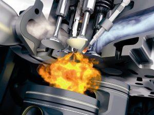 Камеры сгорания дизельных двигателей