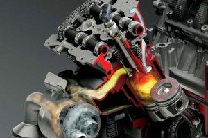 Сгорание топлива в дизельном двигателе