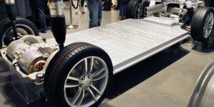 Tesla Model S схема устройство электромобиля