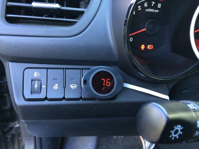 Цифровой датчик температуры охлаждающей жидкости и двигателя