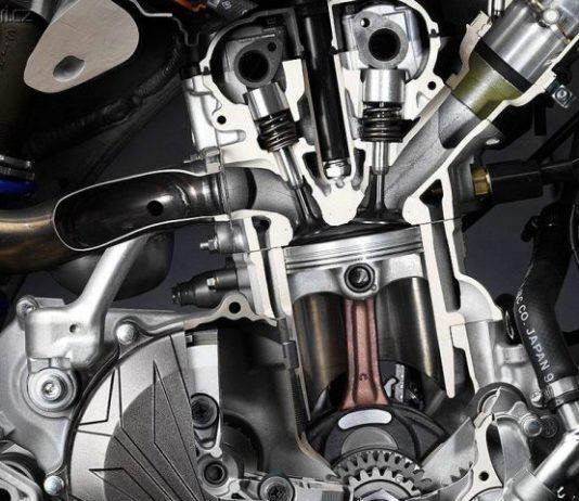 Двигатель с изменяемой переменной степенью сжатия
