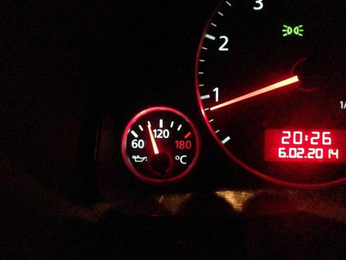 температура охлаждающей жидкости норма