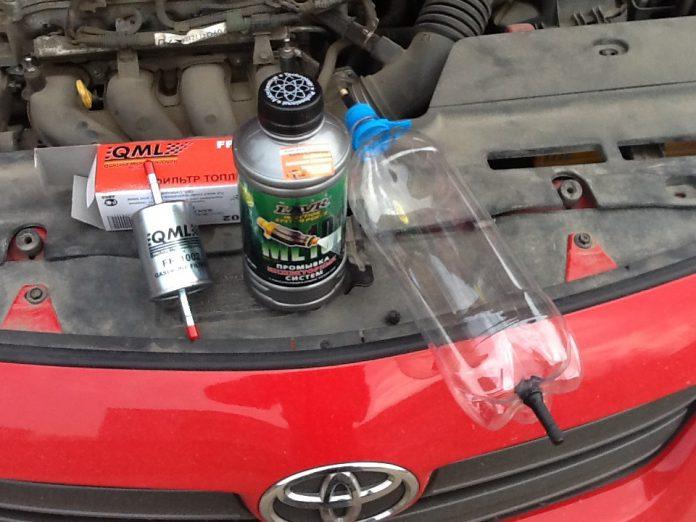 Тест промывок для двигателя