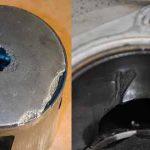 Последствия перегрева двигателя прогар поршня