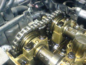 Когда менять цепь в двигателе признаки
