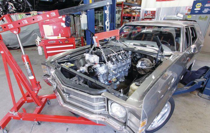Замена двигателя на более мощный