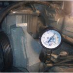 Как измерить давление масла в двигателе
