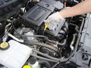 Высокий уровень масла в двигателе перелив