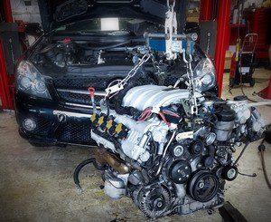 Своп двигателя замена на более мощный
