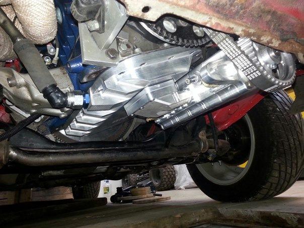 Система сухого картера двигателя двигатель с сухим картером устройство