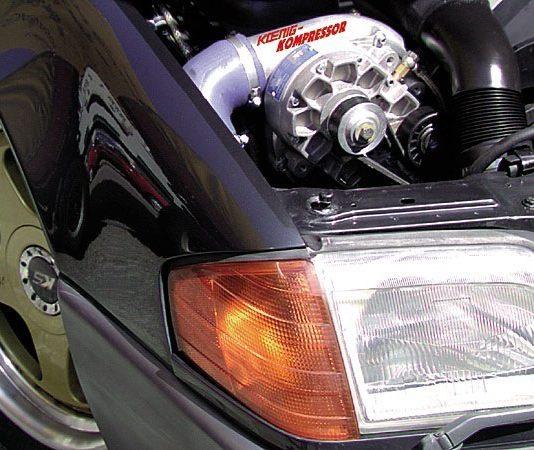 Механический нагнетатель воздуха в двигатель
