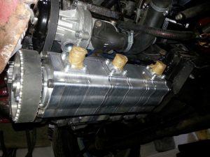 Сухой картер двигателя система смазки