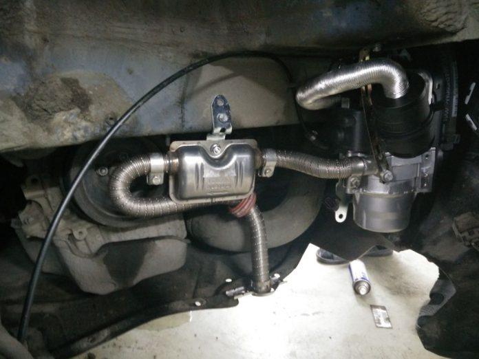 Webasto на бензиновый двигатель