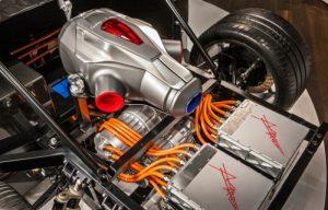 Газотурбинный двигатель автомобиля