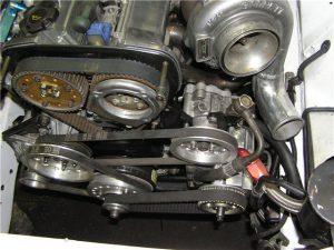 Установка системы сухого картера двигателя