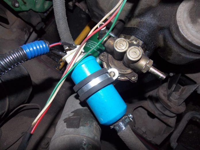 Электробензонасос на карбюраторный двигатель