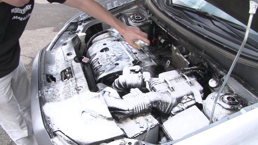 Пенный очиститель двигателя тест обзор
