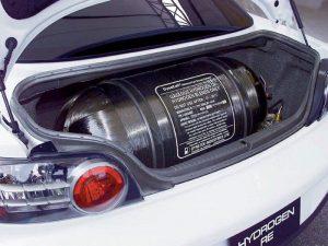 Водородный двигатель внутреннего сгорания на водороде