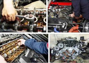 Разборка двигателя автомобиля