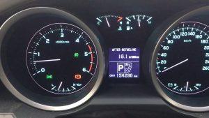 Обороты двигателя скорость расход топлива