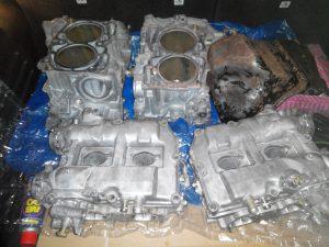 Ультразвуковая мойка деталей двигателя