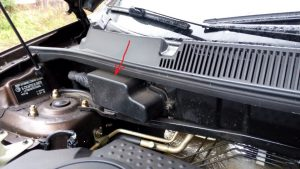 Как снять блок управления двигателем