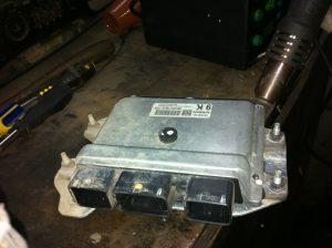 Как заменить ЭБУ двигателем
