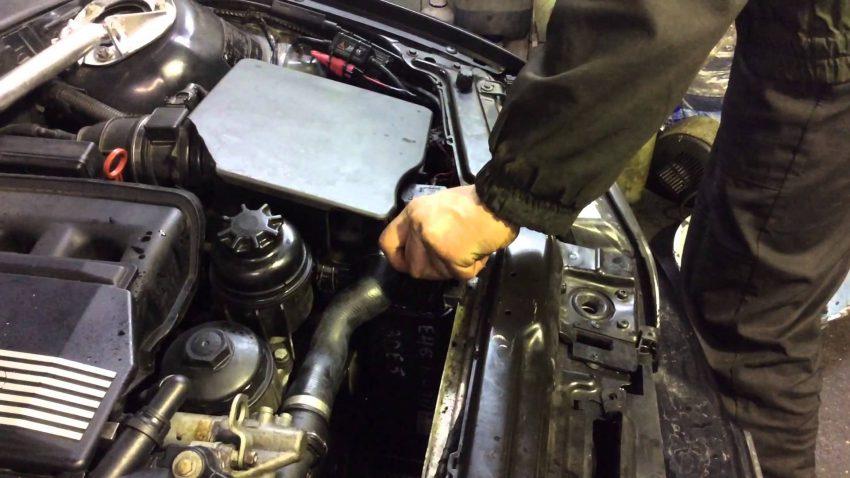 Прокачка развоздушивание системы охлаждения двигателя
