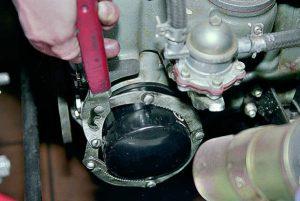 Замена масляного фильтра ВАЗ 2106