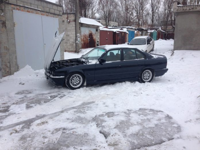 Как завести холодный двигатель зимой