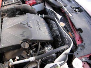 Утепление бензинового двигателя